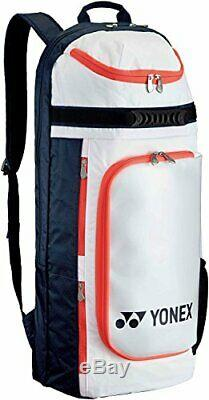 YONEX Tennis Racket Backpack For Two Rackets BAG1729 White Navy Fast Shipping