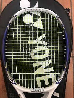 Yonex Isometric S-Fit 1 Dual OPS Tennis Racket With Bag 100in Face Green String